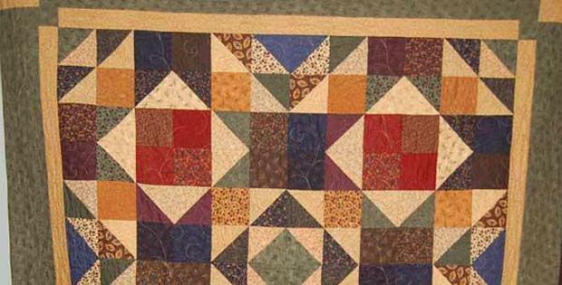 Charming Diamonds Quilt Pattern