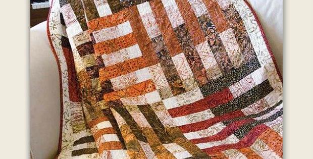 Nutmeg and Cinnamon Quilt Pattern