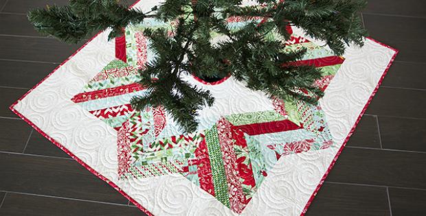 Jelly Roll Tree Skirt Pattern