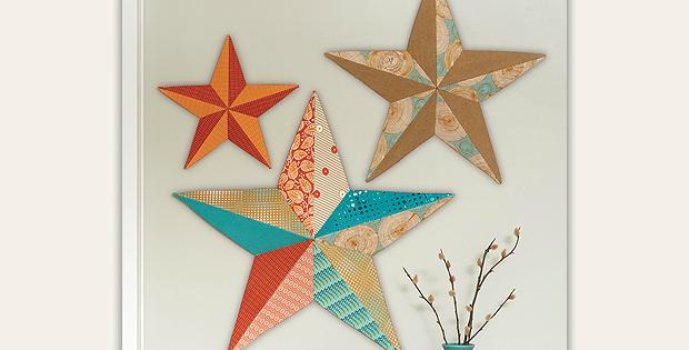 Wall Art Stars Sewing Pattern