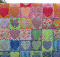 Faded Hearts Quilt Pattern