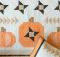 Pumpkin Sky Wall Hanging and Pillow Pattern