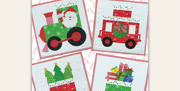 North Pole Express Quilt Pattern