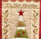 Tis the Season Quilted Wall Hanging Pattern