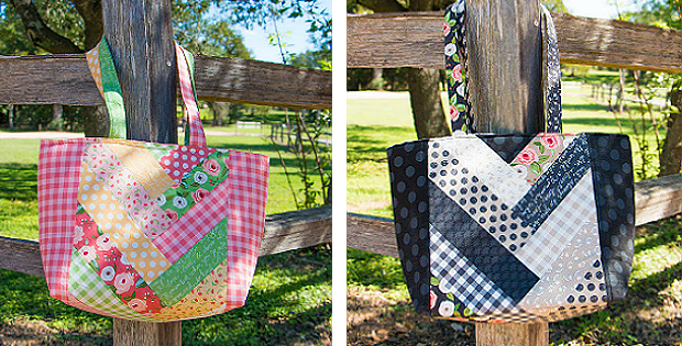 Jolly Braid Tote Bag Pattern