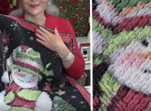 Make a Chenille Quilt from Fabric Panels