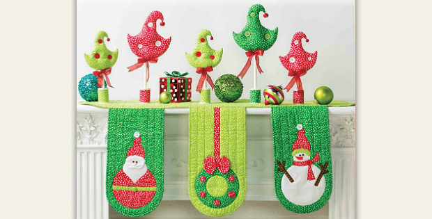 Christmas All Through The House Pattern Collection