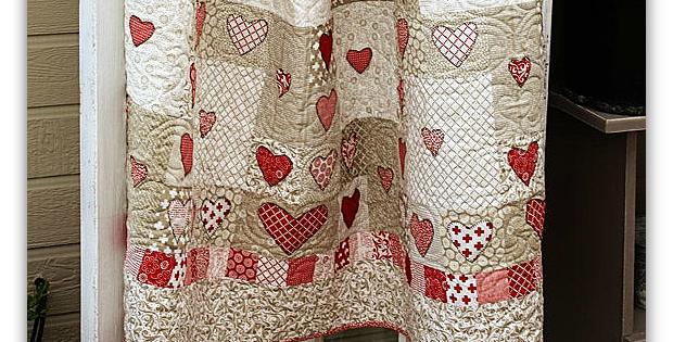 Follow Your Heart Quilt Pattern