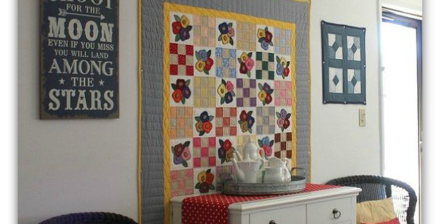 Hang A Large Quilt Without Sleeve
