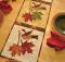 Vintage November Table Runner Pattern