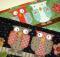 Two Owls Mug Rug Pattern