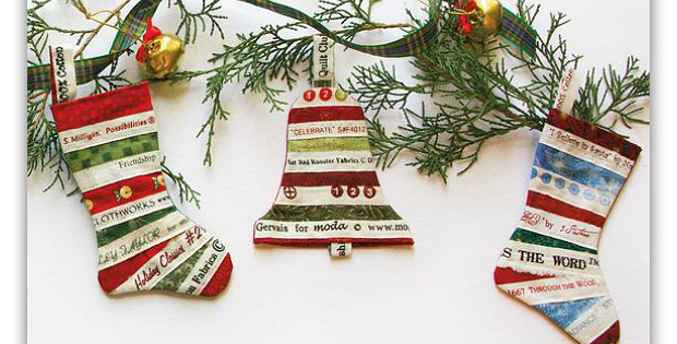 Christmas Trimmings Ornaments Pattern