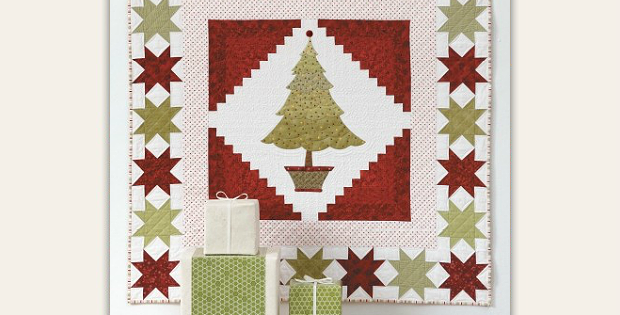 Starry Cabins Quilt Pattern