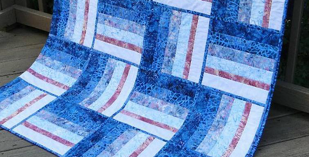 Tennessee Trotter Quilt-As-You-Go Quilt Pattern
