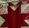 Modern Christmas Stars Tablerunner Pattern