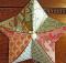 Fabric Origami Star Ornament Tutorial
