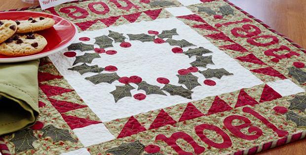 Noel Table Topper Pattern