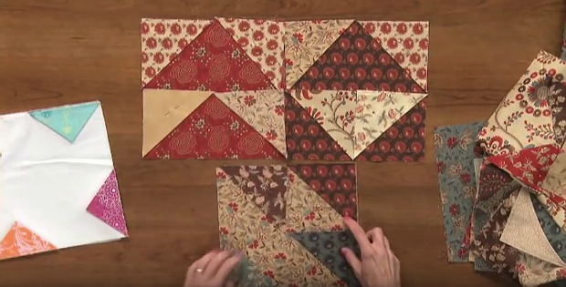 An Easy Fold And Sew Method For Quick Blocks Quilting Digest