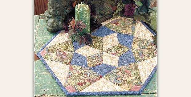 Snowflake Candle Mat Pattern