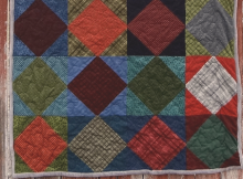 Square on Point Quilt Tutorial