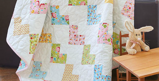 A Sweet Quilt For A Special Baby Quilting Digest