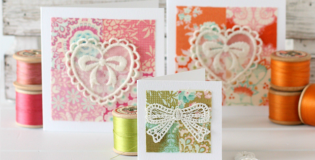 Happy Scrappy Cards Tutorial