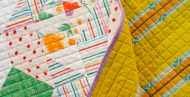 Perfectly Spaced Cross-Hatch Quilting with No Math