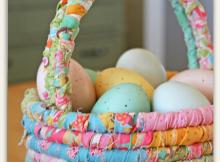 Fabric Easter Basket Tutorial