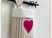 Fabric Hanging Basket Pattern