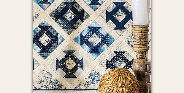 Monkee Blues Quilt Pattern