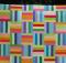 Rainbow Rail Fence Pattern