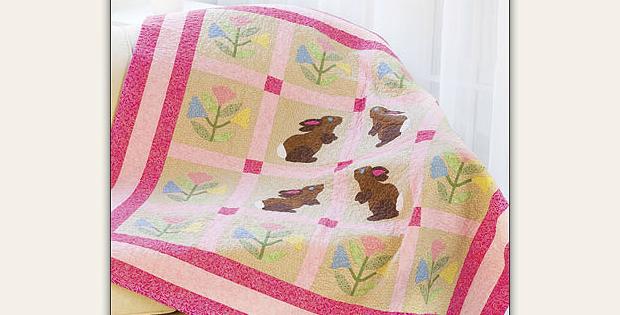 Backyard Bunnies Quilt Pattern