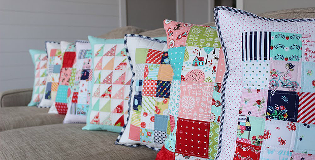 how to make your own pillow forms of any size - quilting digest Make Your Own Pillow
