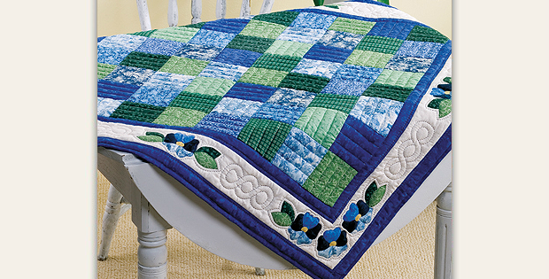 Pansy Table Topper Pattern
