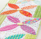 Summer Blooms Table Runner Pattern