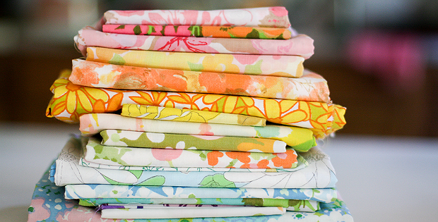 How to Use Vintage Sheets for Quilts