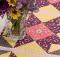 Spring Meadow Table Runner Pattern