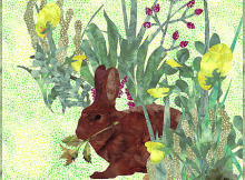 Bunny Brunch Art Quilt Pattern