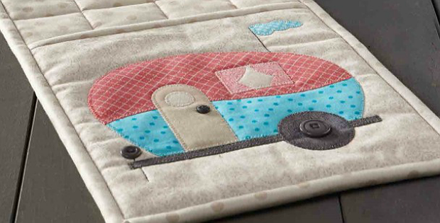Home Is Where the Camper Is Oven Mitt Pattern
