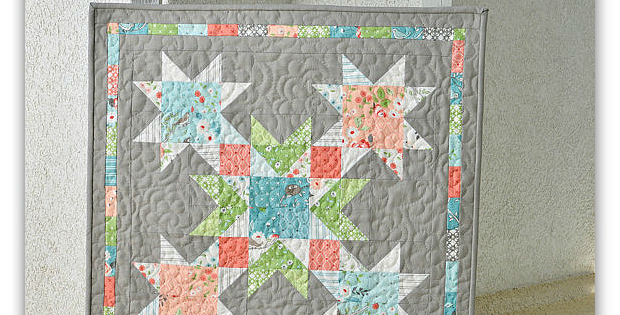 Late Bird Spring Wall Quilt Pattern