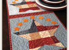 Patriotic Patchwork Table Runner Pattern