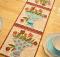 Vintage May Table Runner Pattern