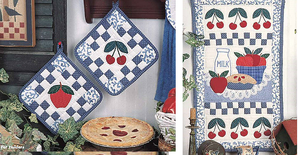 Apple and Cherry Harvest Pattern