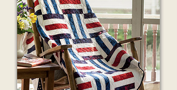 On the Rails Quilt Pattern