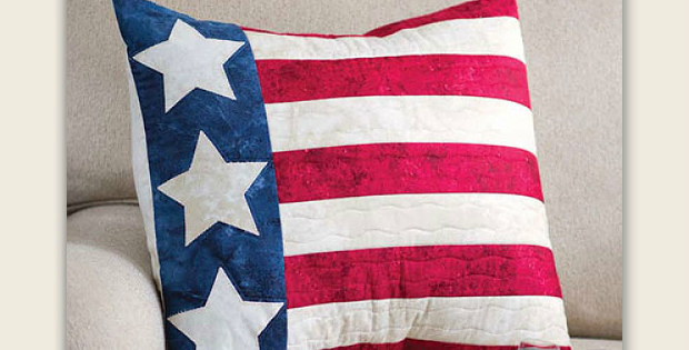 Patriotic Pillow Pattern