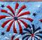 Fireworks Wall Hanging Pattern