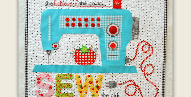 Sew She Did Quilt Pattern