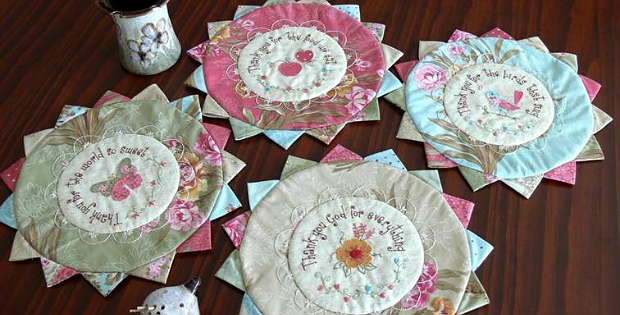 Thank You for the World So Sweet Mats Pattern