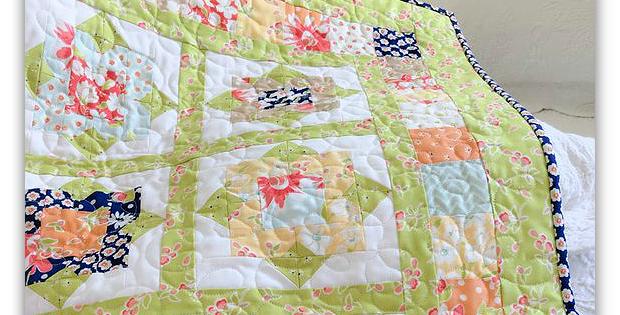 Wallflowers Quilt Pattern