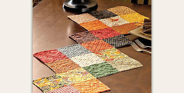 Harvest Charm Table Runner Pattern